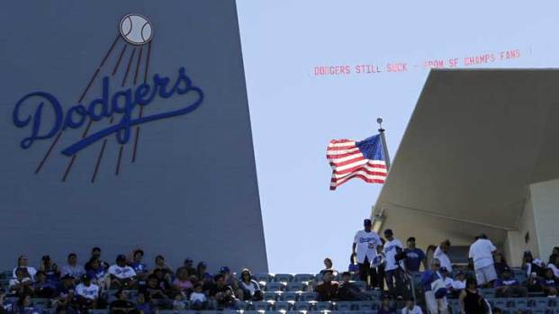 [LA] Opening Day for the Dodgers Brought an Unwelcome Champion to Chavez Ravine