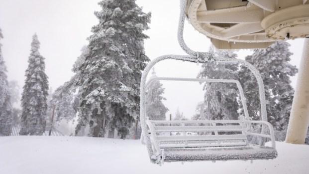 Big Bear's Big Snowfall Is Big