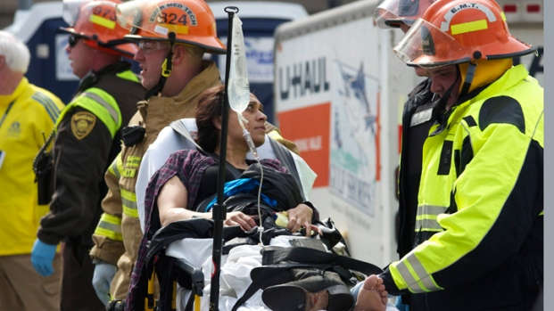 [NEWSC] Witnesses Describe Chaos at Boston Marathon Explosion