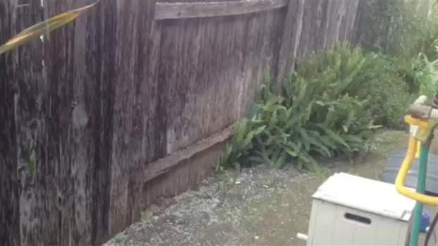 [LA] Raw Video: Hail in Burbank