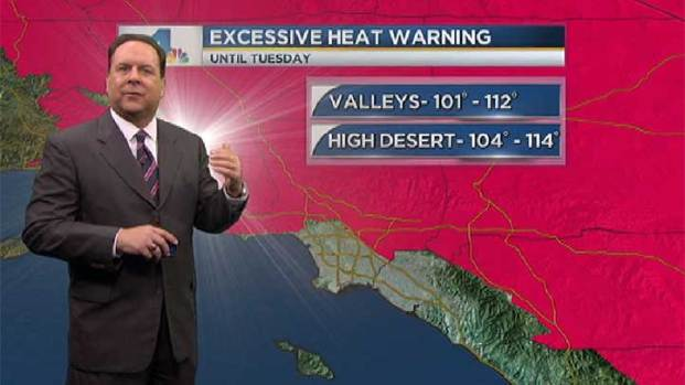 [LA] AM Forecast: Another Scorcher Set for Sunday