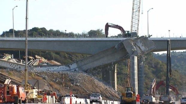 [LA] Bridge Work Temporarily Halted