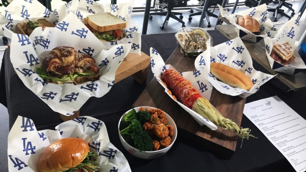 Not Just Peanuts and Cracker Jacks: New Dodgers Menu, Plus Swag