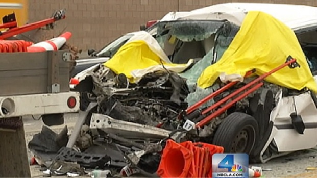 """[LA] CHP Officers """"Frustrated"""" After Series of Work Zone Crashes"""