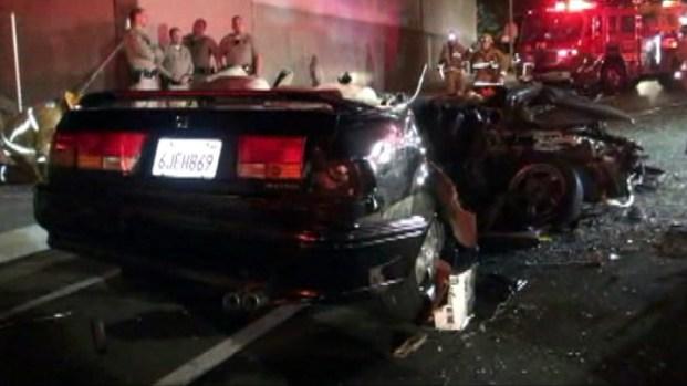 [LA] Three Killed in Two-Car Granada Hills Crash