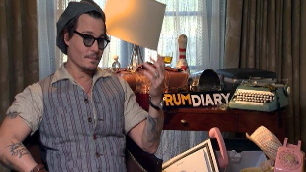 "[LA] ""The Rum Diary"" Opens This Weekend"