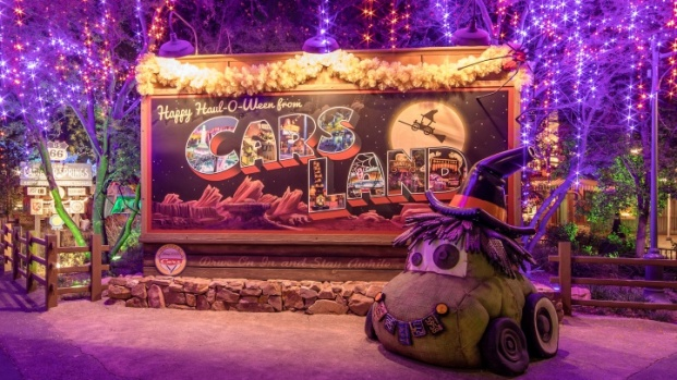 Ghosts 'n Grins at Disneyland's Halloween Time