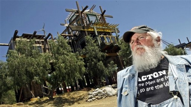 Phonehenge West: Builder's Hodge-Podge Must Come Down