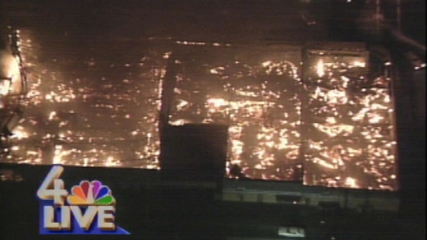April 29, 1992: Aerial Video of Fires