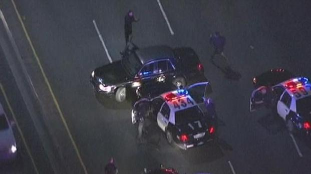 """[LA] Police: Driver Shot by Officers Told 911 Dispatcher """"I Have a Gun"""""""