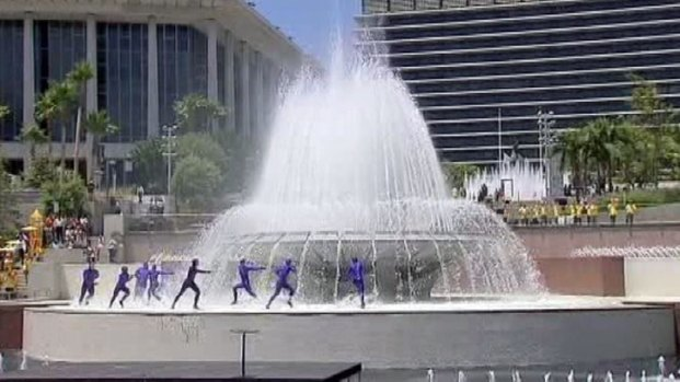 "[LA] Downtown LA's Park Gets ""Grand"" Opening"