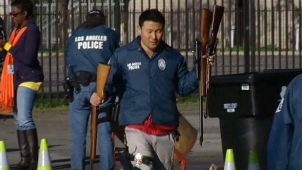 [LA] LA Sheriff's Department Prepares for Compton Gun Buyback