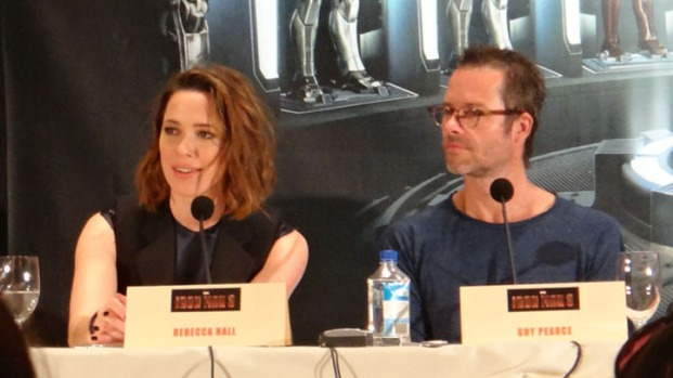 "[NBCAH] Guy Pearce and Rebecca Hall Discuss ""Iron Man 3"""