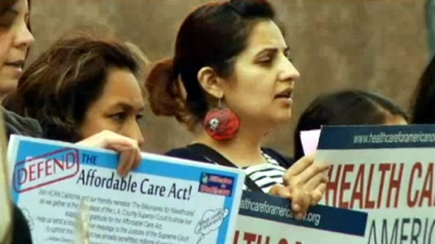 [LA] Health Care Law Hearings Prompt Protest in Los Angeles