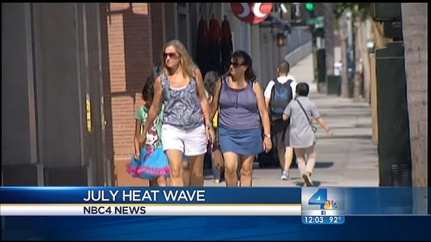 [LA] Heat Wave Hits LA County