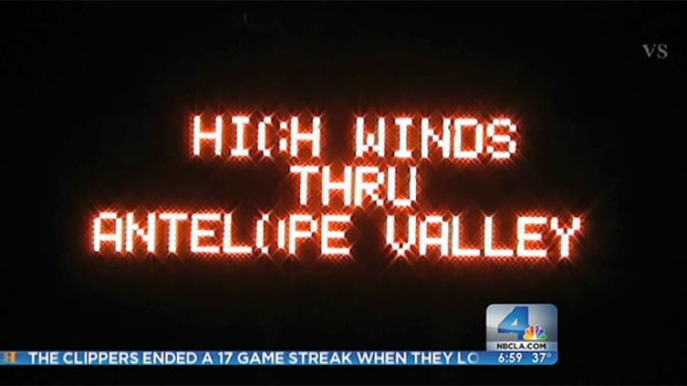 [LA] Wind Advisories Issued for SoCal