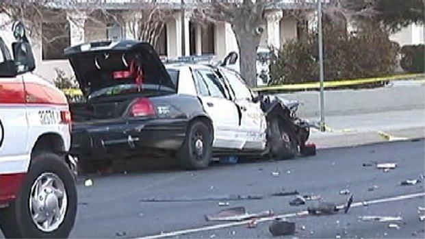 Los Angeles Car Accident: 2 Killed, Deputy Hurt In Los Angeles Patrol Car Crash