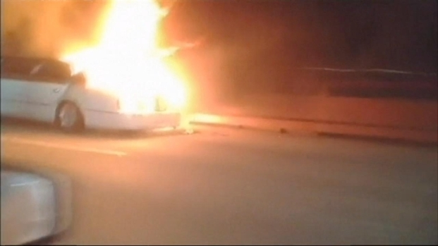 [BAY] What Sparked Limo Fire Still a Mystery