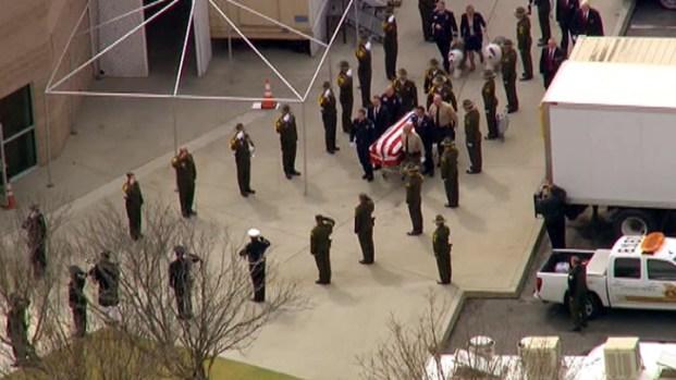 [LA] Emotional Farewell to Fallen Detective Jeremiah MacKay