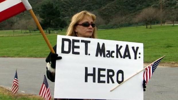 Mourners Honor Slain Detective Jeremiah MacKay
