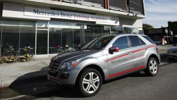 Inside LA's New Merecedes-Benz Driving Academy
