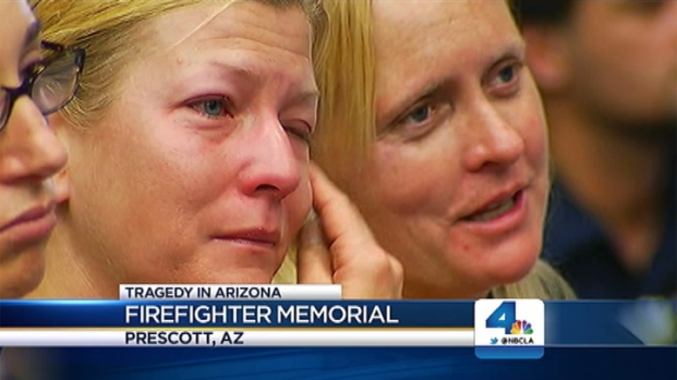 [LA] Memorial for Fallen Firefighters in Arizona
