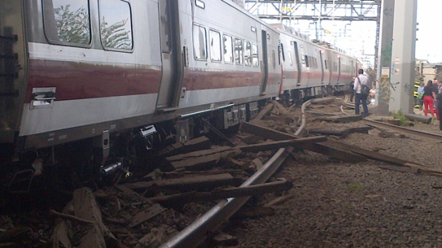 Photos: Metro North Train Collision