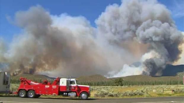 "[LA] Mountain Fire Destruction Is ""Very Sad"""