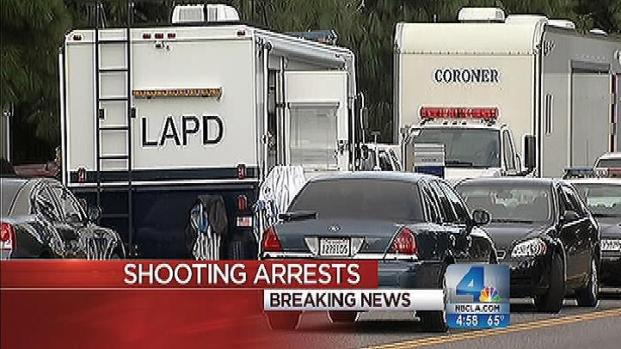 [LA] 4 Arrested in Deadly Northridge Shootings