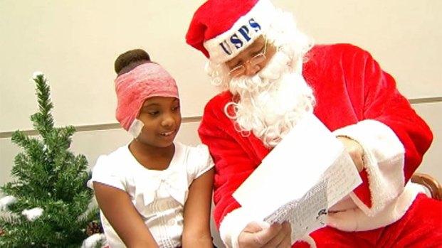 [LA] Letter to Santa Brings Wish Come True