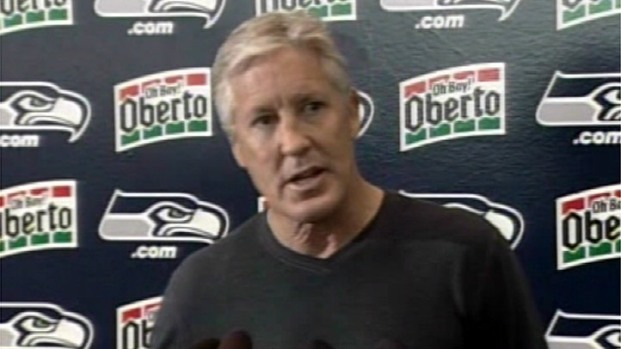 [LA] Seahawks Coach Pete Carroll on Brian Banks' Second Chance at Football