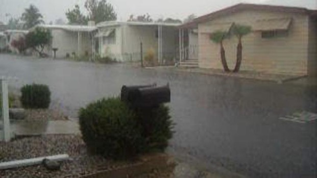 [LA] Flash Flooding, Thunder, Lightning Reported in Moreno Valley
