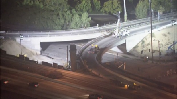 "[LA] ""Rampjam"" Shuts Down First 2 Ramps on 405"