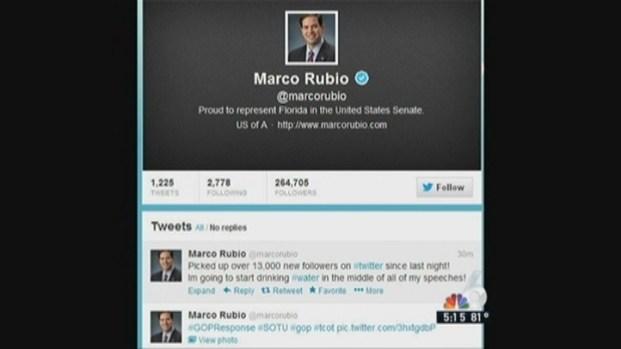 [MI] South Floridians React to Marco Rubio's Water Break