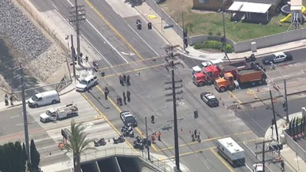 [LA] Pedestrian Killed After Police Pursue Fleeing Car