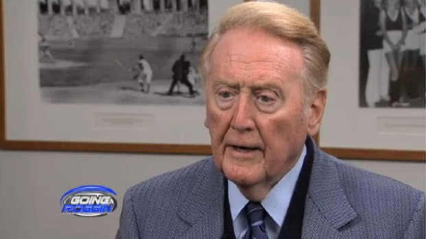 [LA] Vin Scully on Twitter, Monday Night Football and Being His Own Worst Critic