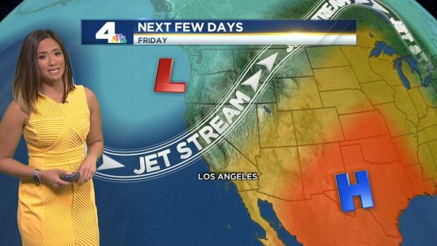 [LA] AM Forecast: Weekend Heat