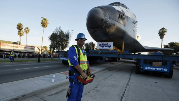 Space Shuttle Endeavour's Final Journey to the California Science Center