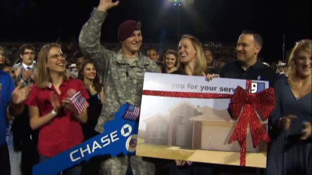 [DFW] Veteran Surprised With Mortgage-Free Home