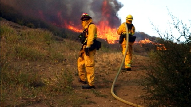 [LA - USE THIS ONE] Covering the Springs Firefight With an iPhone