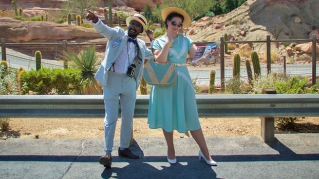 Disneyland Fashionable: Fabulous Dapper Day