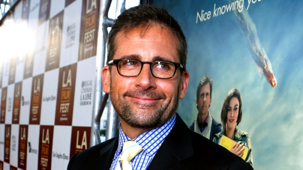 """[IVIL] Steve Carell: """"Carbo-loading"""" for the End of the World"""