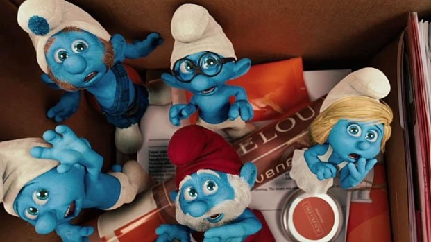 "[NATL] ""The Smurfs"""