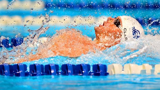 Fullerton's Tyler Clary Earns First Spot on Olympics Swim Team