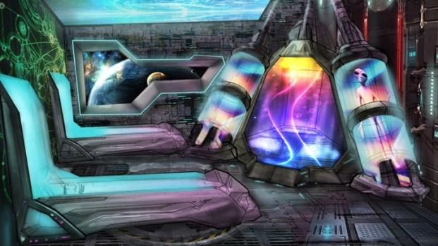 UFO Hotel in Baker: Concept Art Sneak Peek
