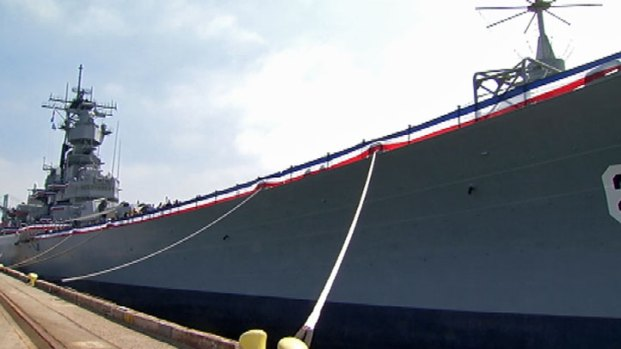 USS Iowa Opens as Museum