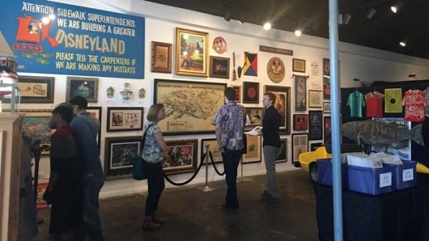 Walt Disney's Disneyland: Auction Exhibition Opens