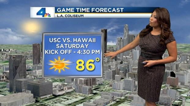 [LA] Weather Video: Friday, Aug. 31, 2012