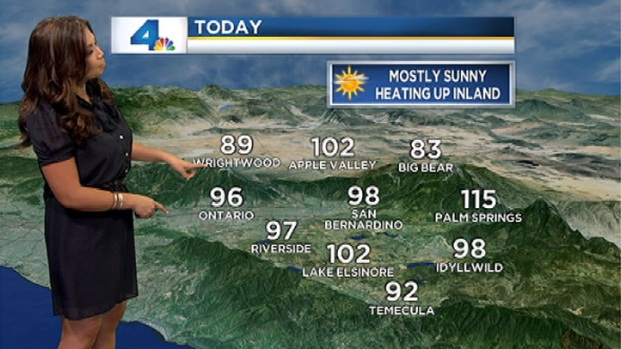 [LA] Weather Video: Monday, July 9, 2012