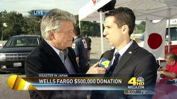 [LA] Japan Fundraiser: Wells Fargo Donates Up to $1.5 Million
